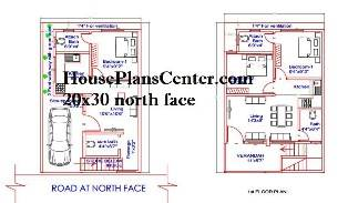 20x30 north face house plan