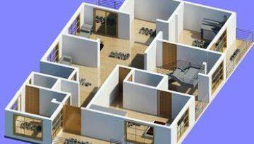 House walls alignment design