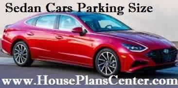 sedan car parking size